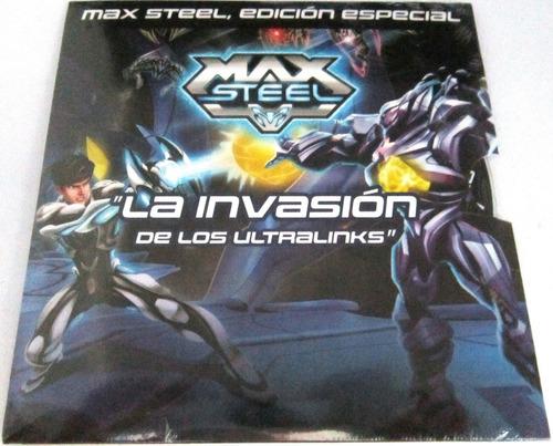max steel - la invasion de los ultralinks pelicula nueva dvd