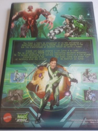 max steel vs la amenaza mutante - dvd - original