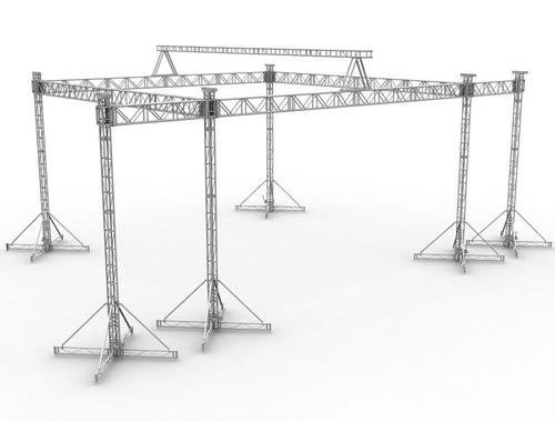 max support armado mx 01 - 12mx12mx7m de altura