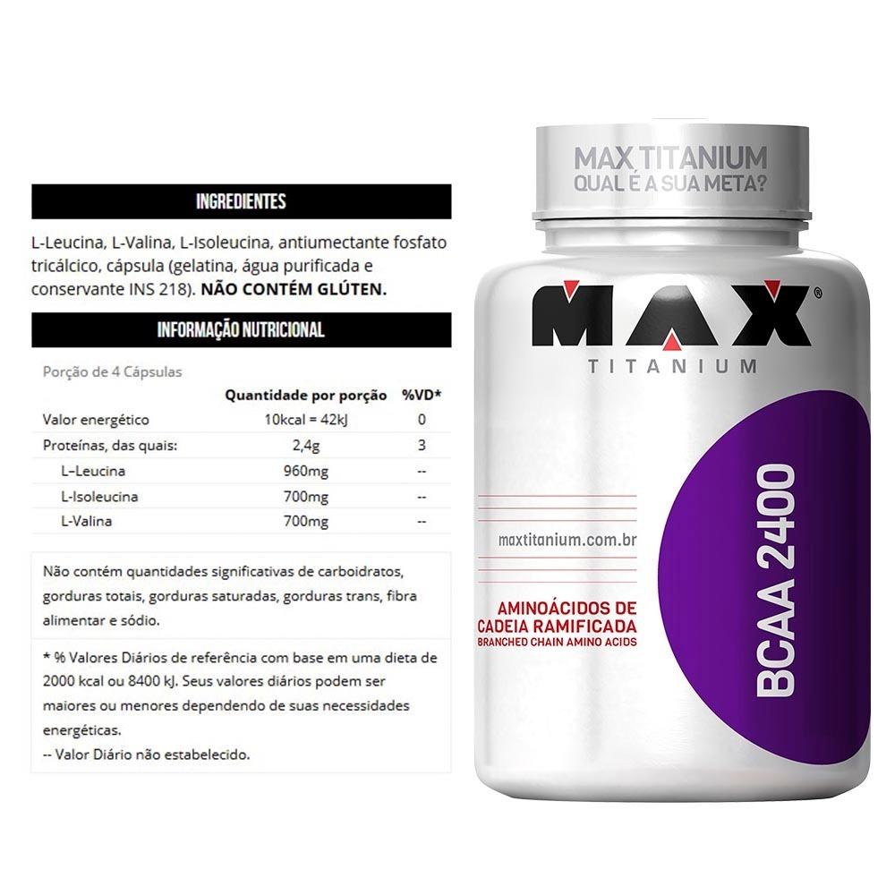 9b863c1e0 Combo Mulher Whey Protein + Bcaa + Colágeno Max Titanium - R  120