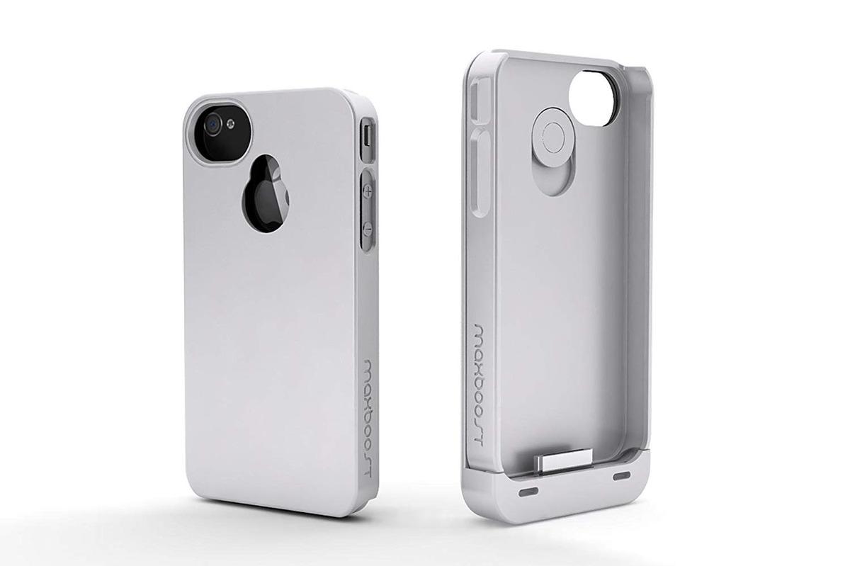 2aa628c4d3c Maxboost iPhone 4s Funda Bateria/iPhone 4 Funda Bateria (190 ...