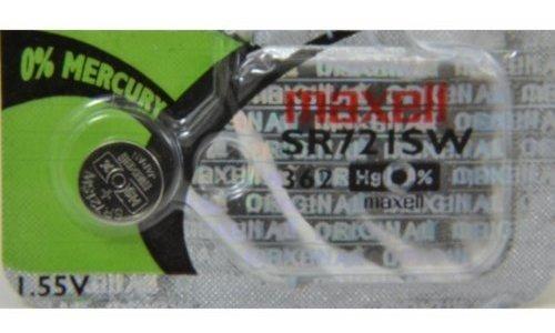 maxell 362 - reloj - bateria