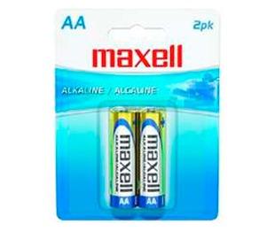 maxell 723407 pilas alcalinas lr6 aa 2 uni