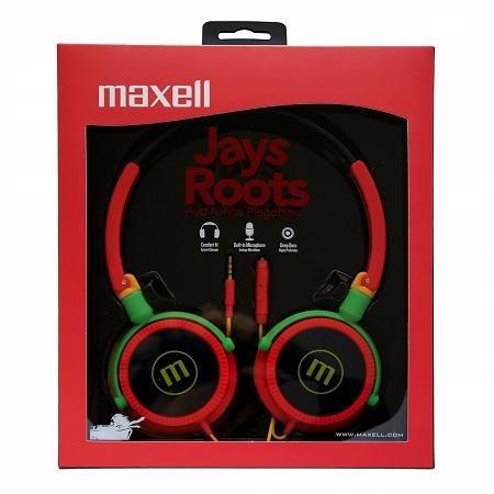 maxell audífono plegable dj-21jays 347669 (gadroves)