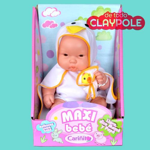 maxi bebé animalito 40 cms  - bebote c/ sonido envío gratis