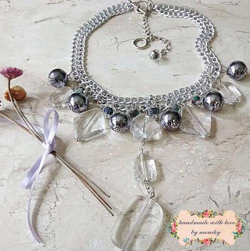 maxi colar bijuteria