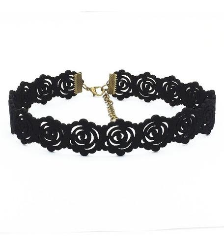 maxi colar gótico, gargantilha, tattoo, coração, flor,choker