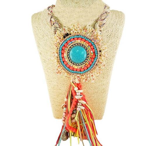 maxi collar  boutique multicolor.