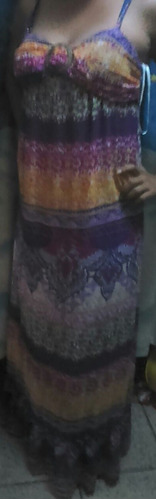 maxi dress moda juvenil de oferta fiesta posada casual
