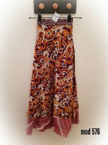 cb3e5d458 Maxi Falda Pollera D Las Mil Formas Mandala Hindu Modelo 576