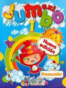 Maxi Jumbo Preescolar 1 Para Colorear Y Actividades García