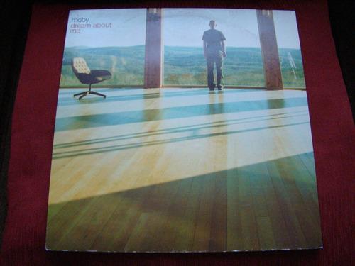 maxi moby - dream about me (3 remixes) - 2005 uk como nuevo