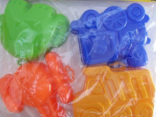 maxi moldes plásticos para la playa tiempo libre de duravit