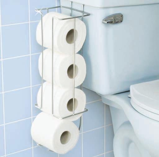 Maxi portarollo wc metalico el papel higi nico for Accesorios bano papel higienico