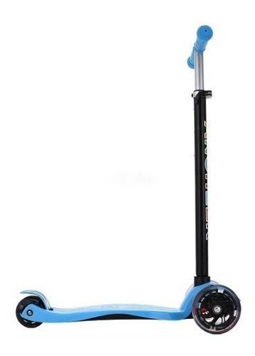maxi scooter led monopatín triscooter  mitiendacl