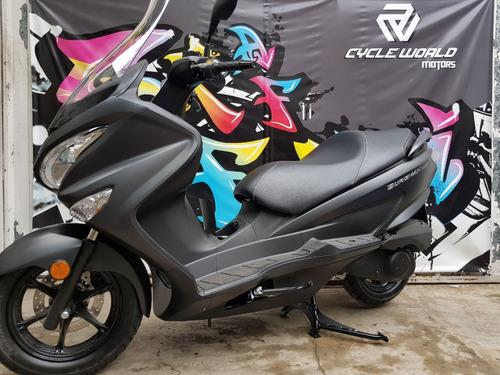 maxi scooter suzuki burgman 200 abs 0km 12 y 18 cuotas 29/02