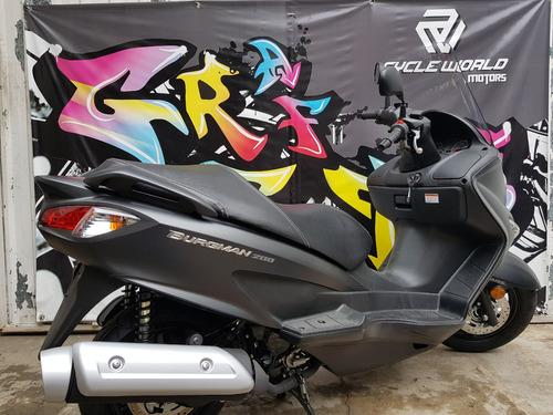 maxi scooter suzuki burgman 200 i abs 0km 2018 100%  japon