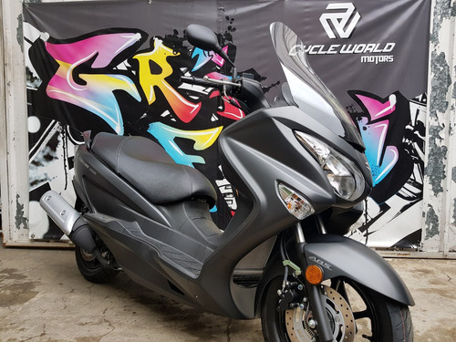 maxi scooter suzuki burgman 200 i abs 0km 2018 baul 2 cascos