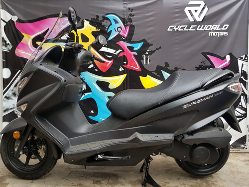 maxi scooter suzuki burgman 200 i abs 0km 2018 cycle world
