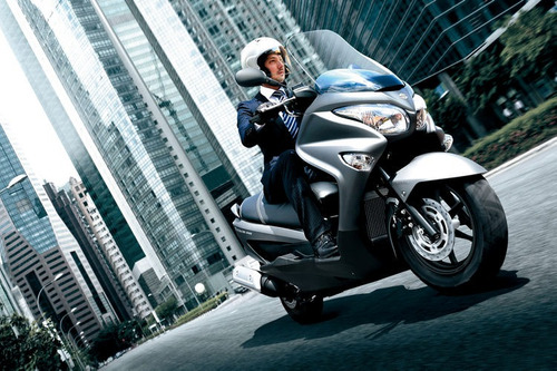 maxi scooter suzuki burgman 200 i abs okm 2018 al 9/11