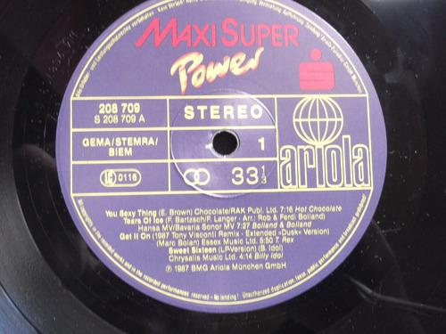 maxi super power- living in a box, bad boys blue, billy idol