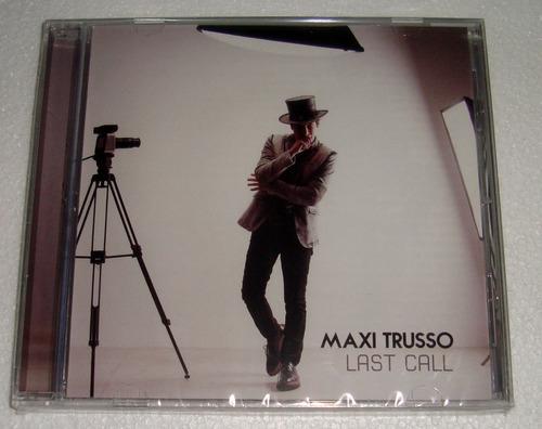 maxi trusso last call cd sellado