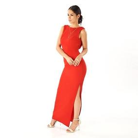 e6d79fd83 Maxi Vestido 14507 Largo Rojo Moda Mexicana Cocketel Fiesta