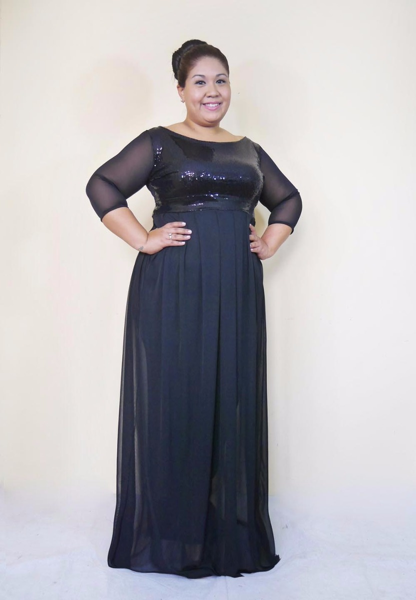 c188243dae9 Maxi Vestido Gala-tallas Grandes