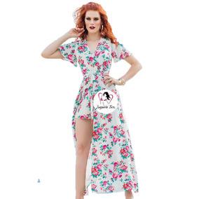 98fc824e55 Maxi Vestido Con Short - Vestidos de Mujer en Mercado Libre México