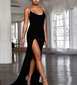 Maxi Vestido Largo Noche Sensual Elegante Moderno Sexyenvío