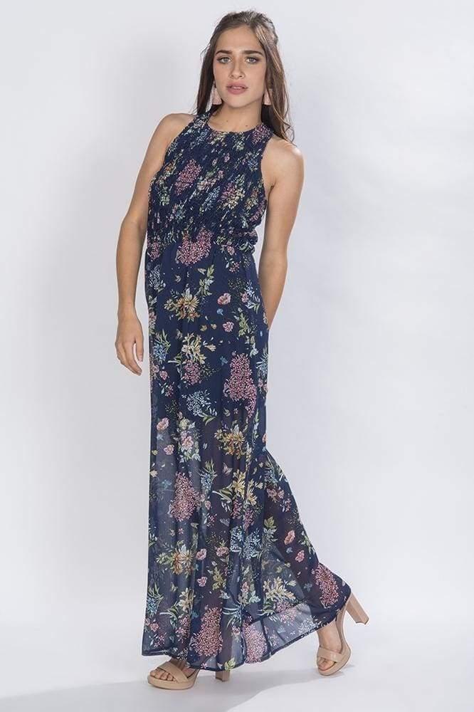 5e2881de5 maxi vestidos largos casuales azul floreados juvenil s81118. Cargando zoom.