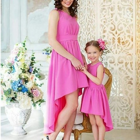 oferta gran descuento de 2019 gran selección de 2019 Maxi Vestidos Madre E Hija 2x1 Combo Princesas Bebe Azukiel