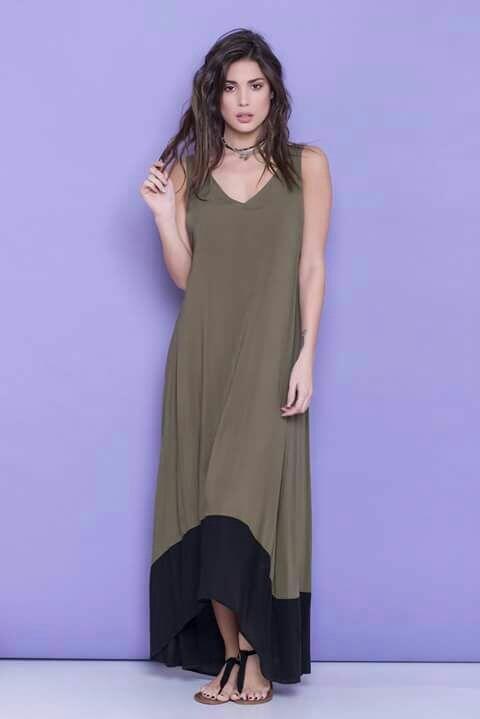 Maxi vestidos casuales 2019