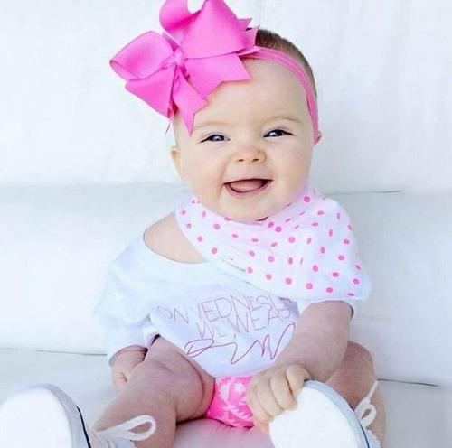 maxilazos y turbantes para bebes y ninas importados