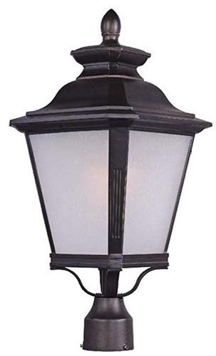 maxim lighting 1121 knoxville outdoor pole / post mount lan