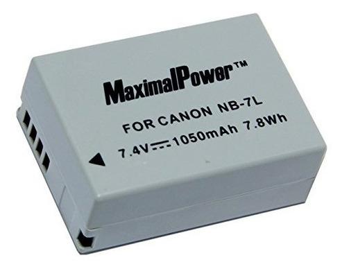 maximalpower nb7l de batería para canon powershot sx30 is,