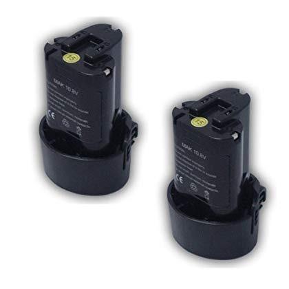 maximalpower ptb mak 10.8 x2p 10,8 voltios 1500 mah li - ion