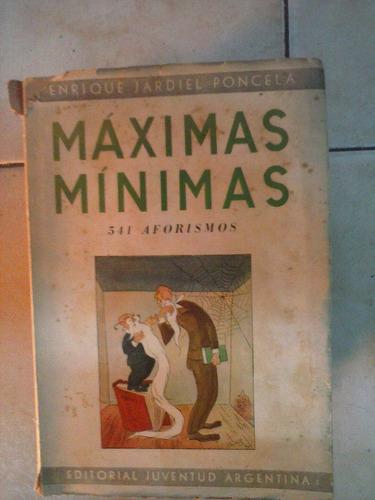 maximas minimas - 541 aforismos - poncela