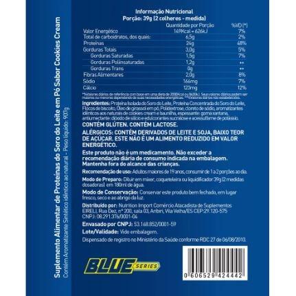02db96752 Maximum Whey Isolado E Concentrado 907g - Blue Series - R  179