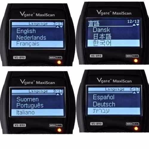 maxiscan - vs890 - - scanner automotivo - em português obd2