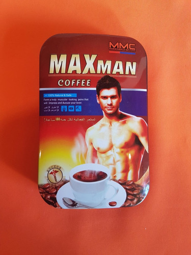 maxman coffe ( caja)  potencializador sex shop 100% natural