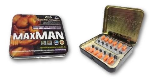 maxman iv potenciador sexual 100% natural max man