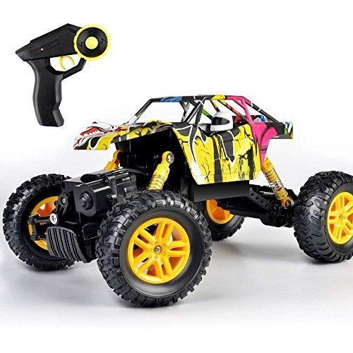maxnic rc coche 4wd de carretera rock crawler 24 ghz 118 rad