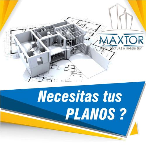 maxtor  realizaciones de planos y diseños