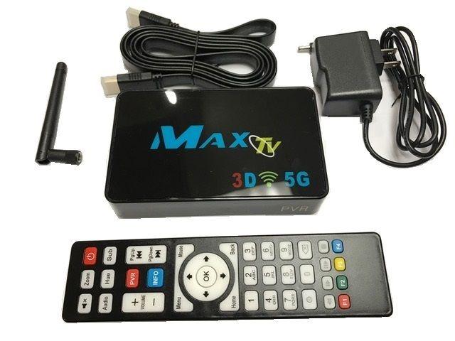 Maxtv Pvr 5g A Óptico Más Rápido Iptv Set-top-box 2gb / 8gb