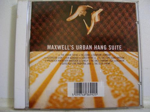 maxwell's urban hang suite, cd original promo 1996