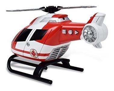 maxx action light helicoptero de juguete sound rescue vehicl