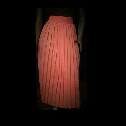 maxy falda plisada chifon