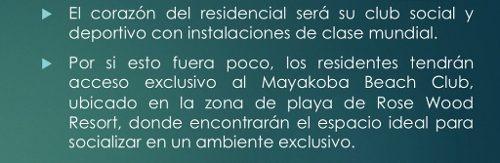 mayakoba country club. terrenos en venta 300 m2. playa del carmen, quintana roo