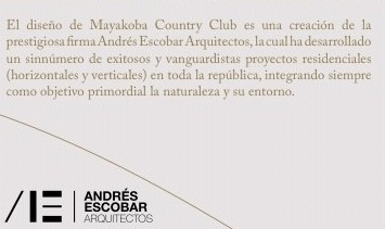mayakoba country club. terrenos en venta 450 m2. playa del carmen, quintana roo